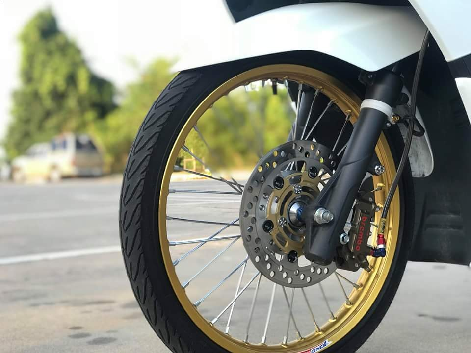 PCX 150 2018 do mang ve dep gian don cua biker xu chua vang - 7