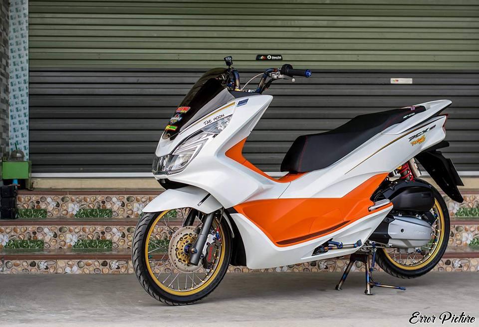 PCX 150 do mang ve dep tinh te day dang cap cua biker Thai - 11
