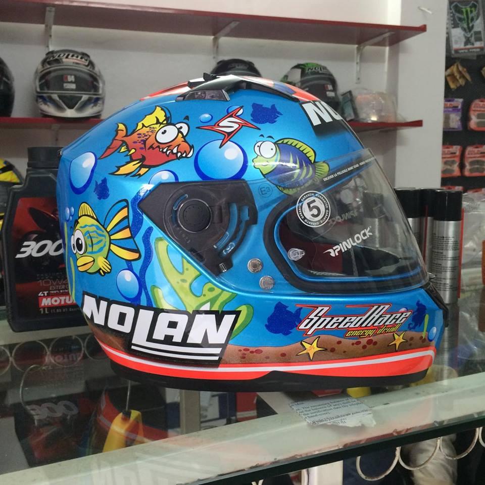 Moto299 Mu bao hiem Nolan N64 tai Ha Noi