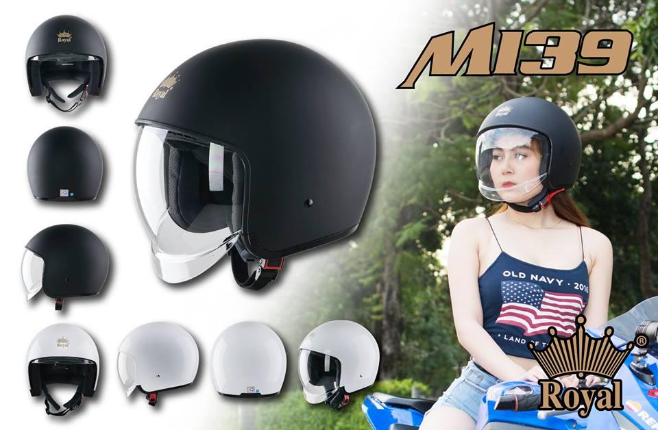 Royal Helmet Ha Noi Mu bao hiem Royal M139 gianh cho nam va nu - 3