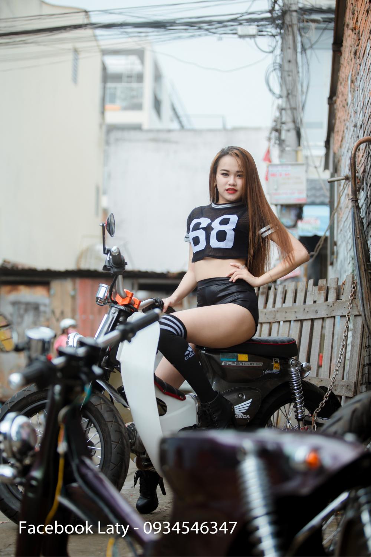 Sieu Nong bong My Ngoc Cung Xe Cub Do Tphcm - 12