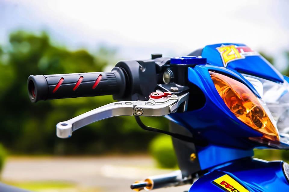 Sirius 110 do mang ve dep tinh te cua biker Bien Hoa - 4