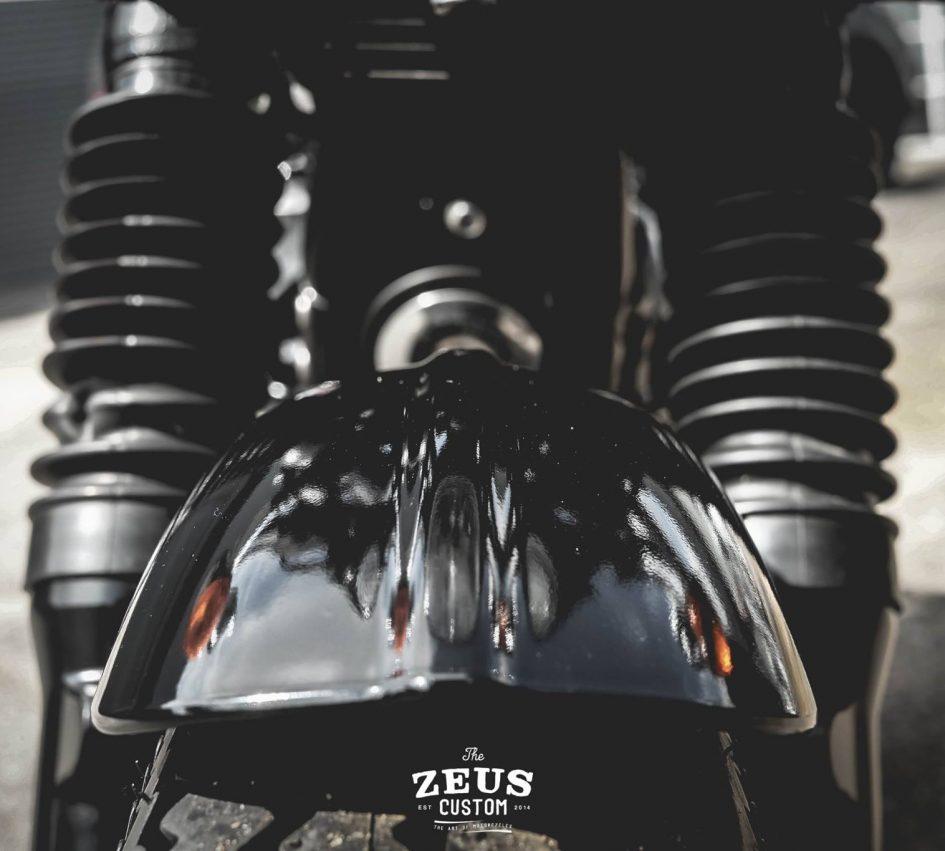 Triumph Thruxton 900 ban do Cafe Racer day cam hung - 10