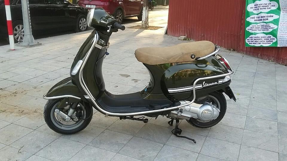 Vespa Lx 125cc nhap italia mau xanh reu bien HN - 3
