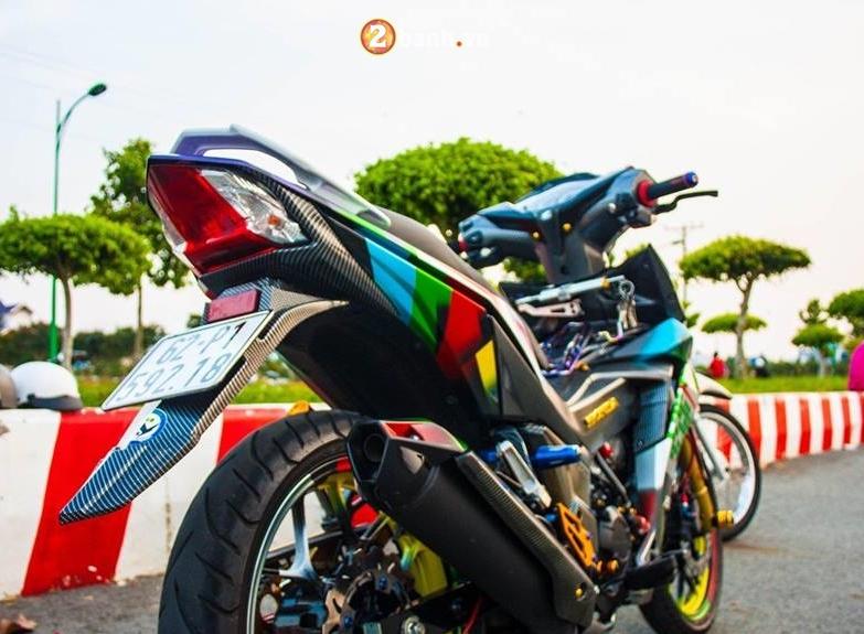 Winner 150 do mang ve dep tao bao voi option do choi chat cua biker Long An - 12
