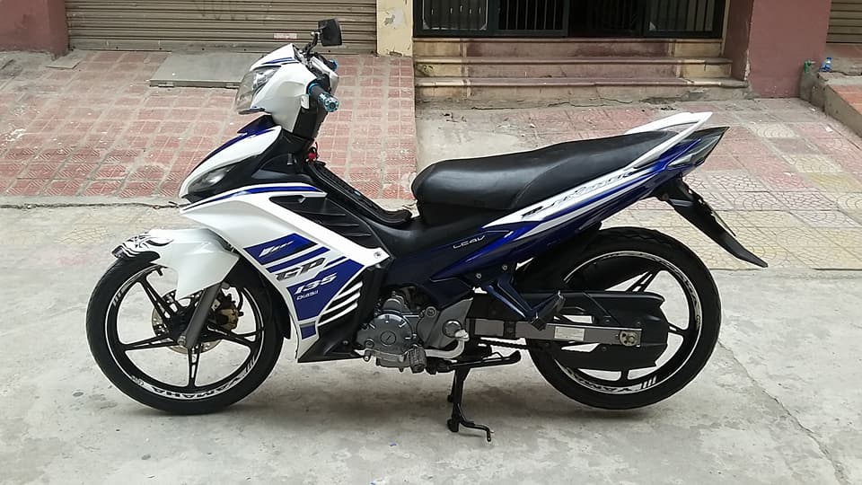 Yamaha Exciter 135cc mau xanh GP con tu dong HN