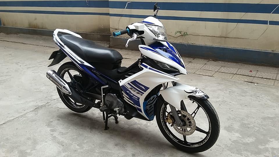 Yamaha Exciter 135cc mau xanh GP con tu dong HN - 2