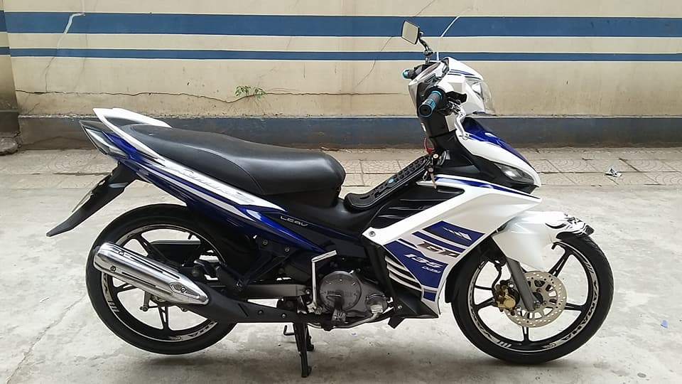 Yamaha Exciter 135cc mau xanh GP con tu dong HN - 3