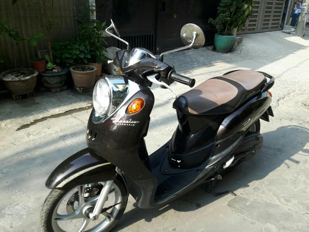 Yamaha Mio Classico co dien mau nau den bstp
