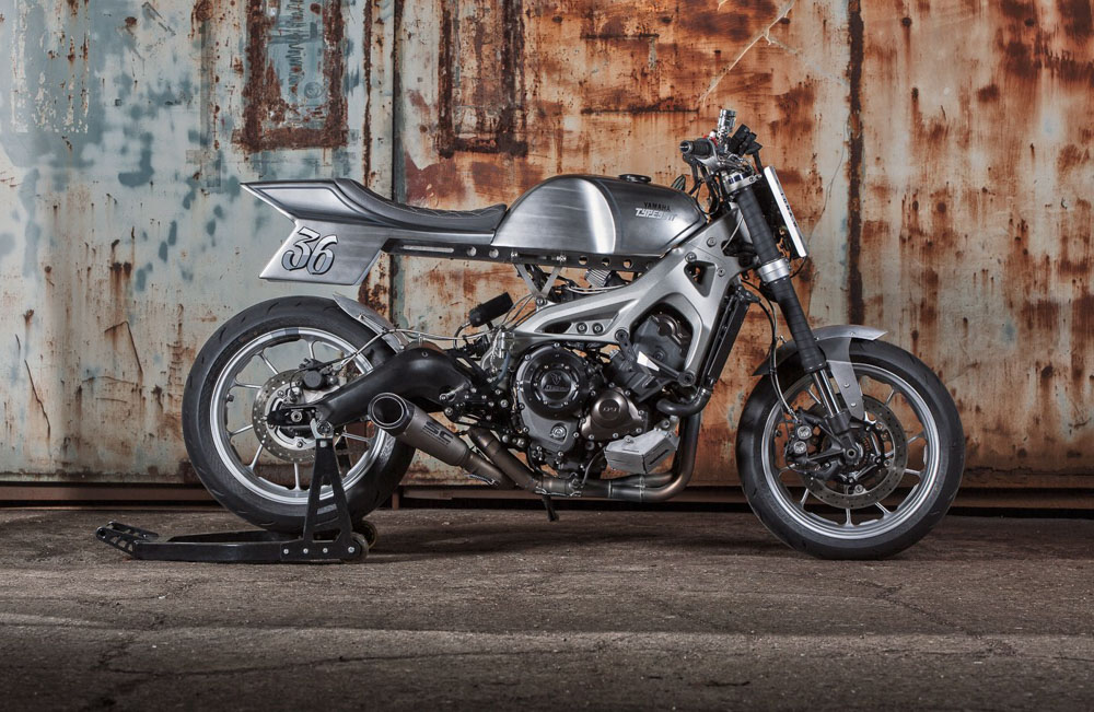 Yamaha MT09 ban do hoanh trang tu tho may 1996 Biker Custom