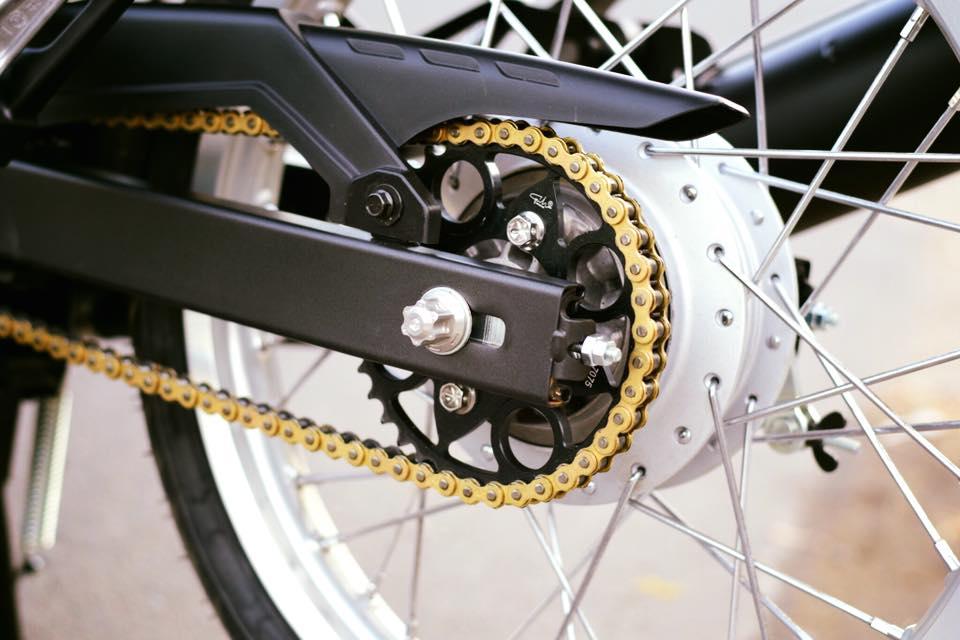 Yamaha Spark 135 do su hoi sinh trong ve dep nguyen thuy cua biker Ca Mau