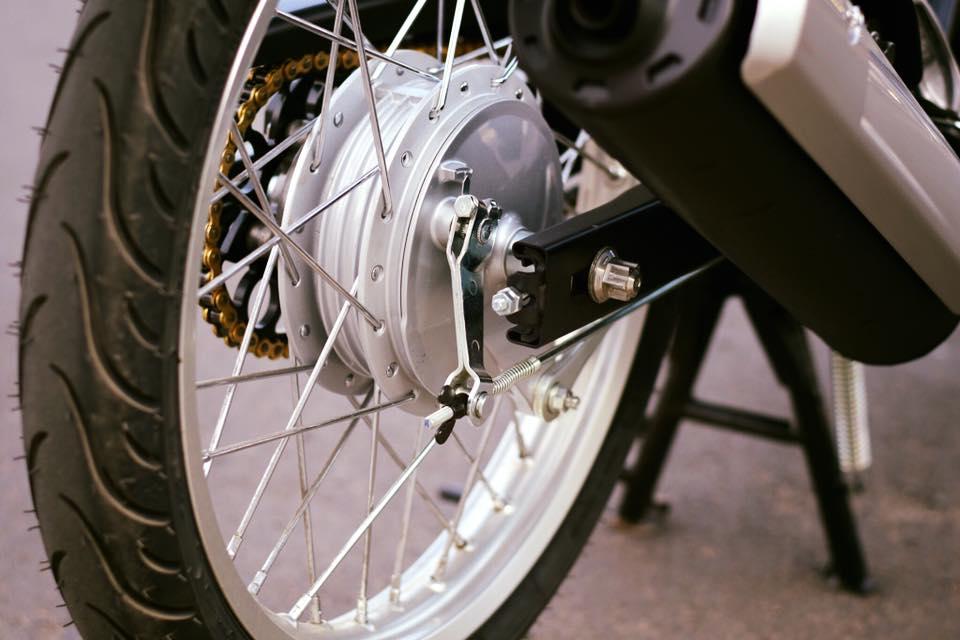 Yamaha Spark 135 do su hoi sinh trong ve dep nguyen thuy cua biker Ca Mau - 8