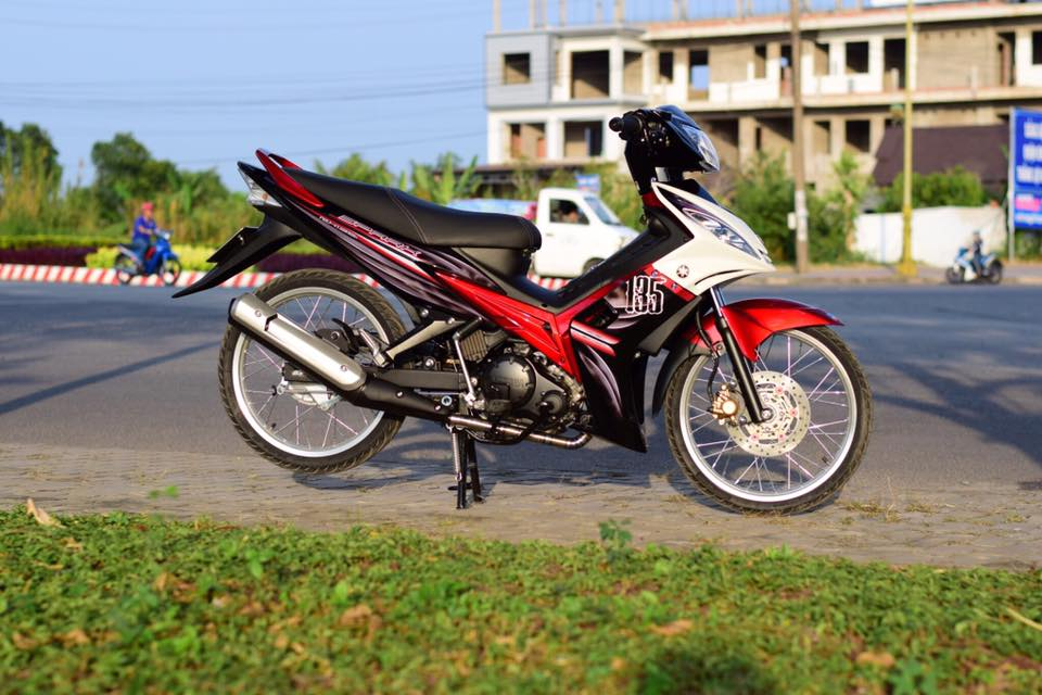 Yamaha Spark 135 do su hoi sinh trong ve dep nguyen thuy cua biker Ca Mau - 12