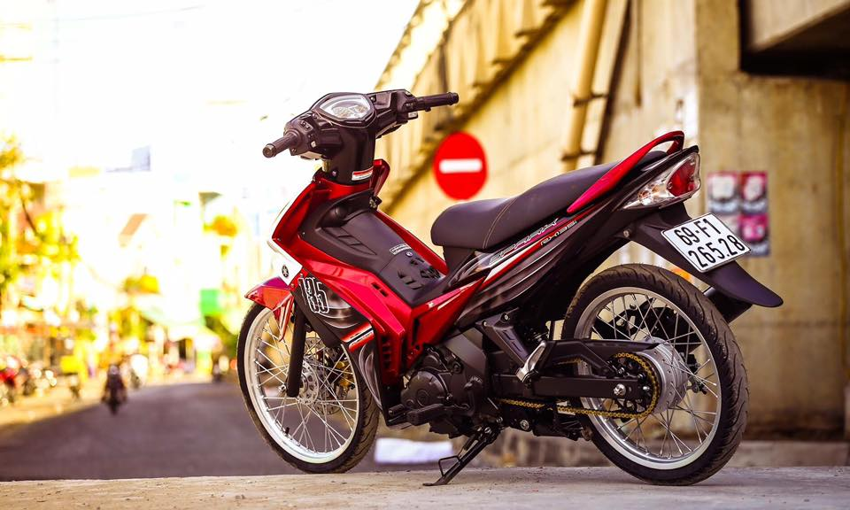 Yamaha Spark 135 do su hoi sinh trong ve dep nguyen thuy cua biker Ca Mau - 11