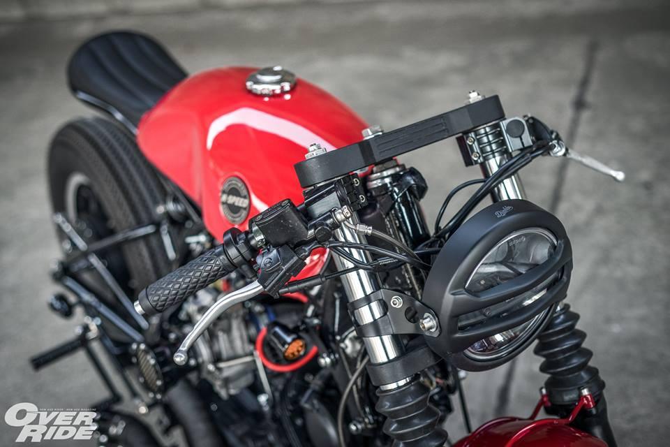 Yamaha Virago 750 than hinh oai ve qua phong cach Cafe Racer - 4