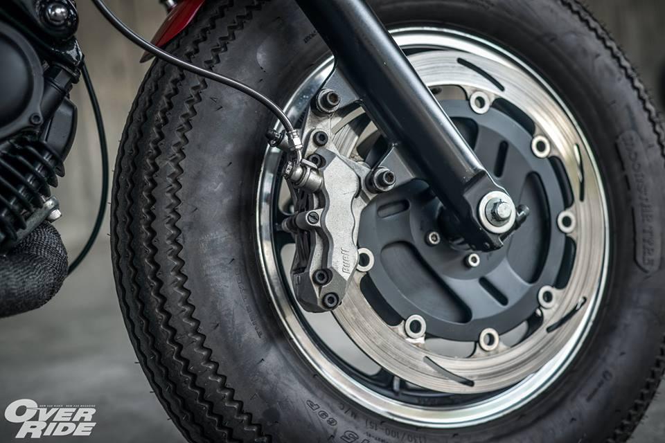 Yamaha Virago 750 than hinh oai ve qua phong cach Cafe Racer - 10
