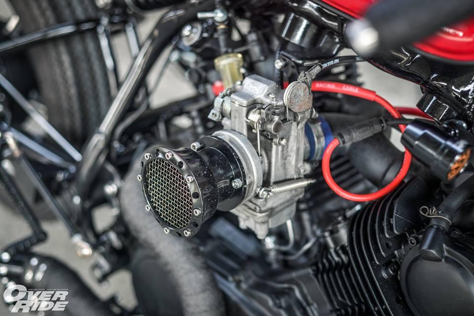 Yamaha Virago 750 than hinh oai ve qua phong cach Cafe Racer - 12