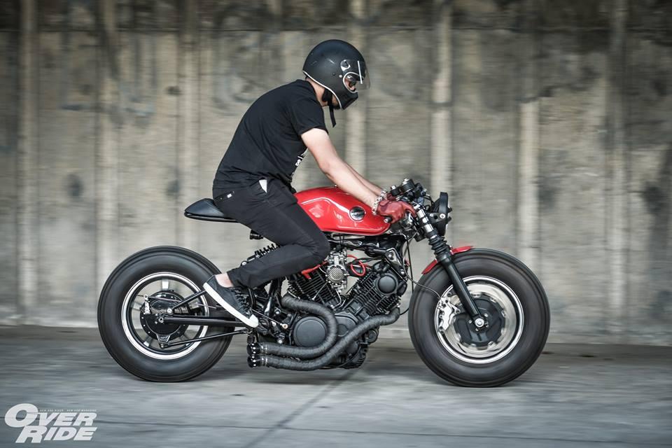 Yamaha Virago 750 than hinh oai ve qua phong cach Cafe Racer - 17