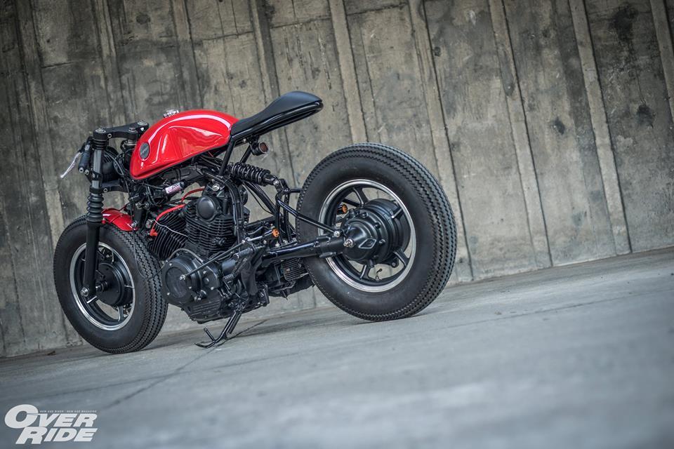 Yamaha Virago 750 than hinh oai ve qua phong cach Cafe Racer - 19