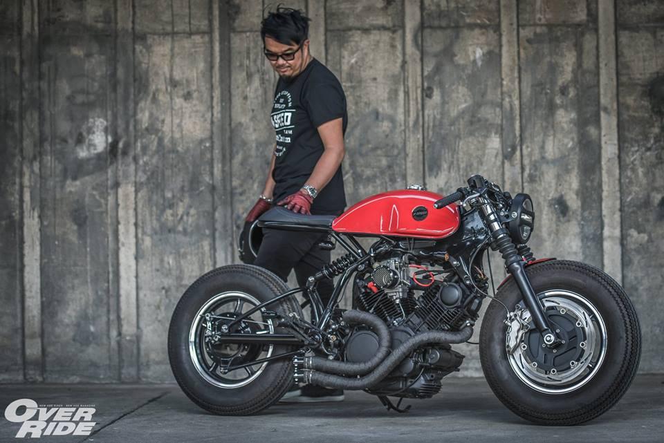 Yamaha Virago 750 than hinh oai ve qua phong cach Cafe Racer - 21