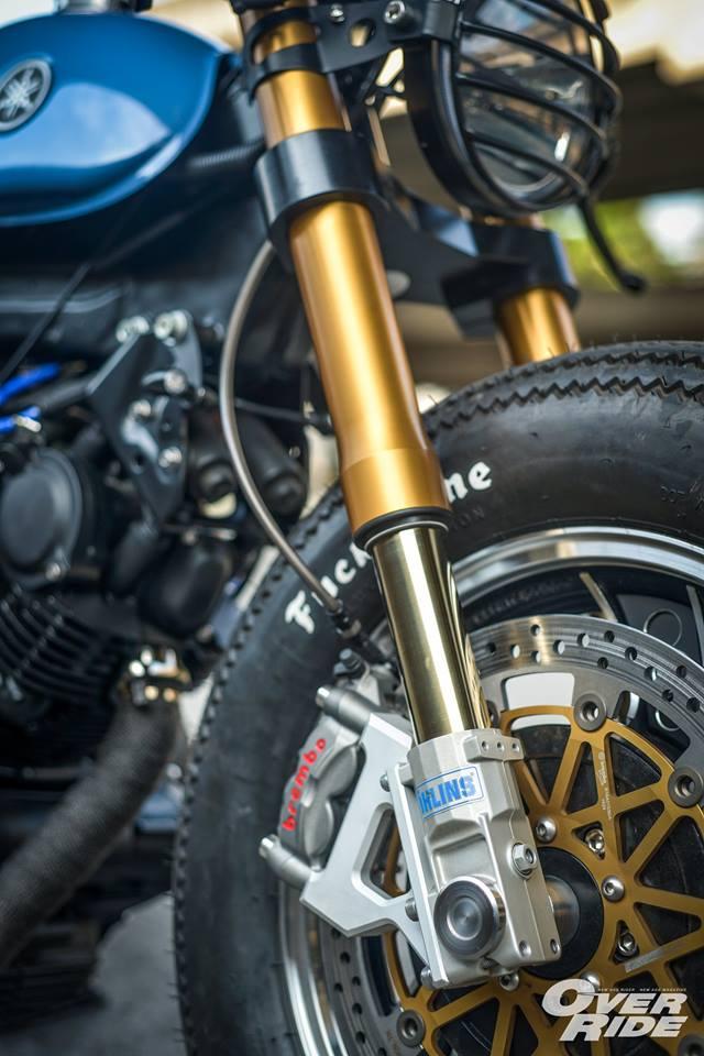 YAMAHA XV 750 ban do Make Over ham ho cua Biker Thai - 12