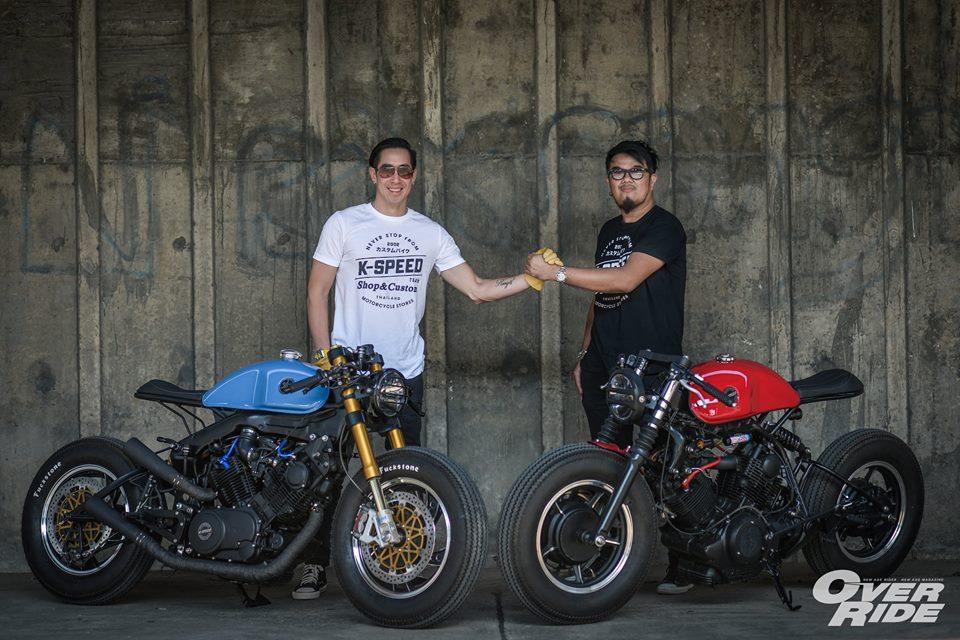 YAMAHA XV 750 ban do Make Over ham ho cua Biker Thai - 24