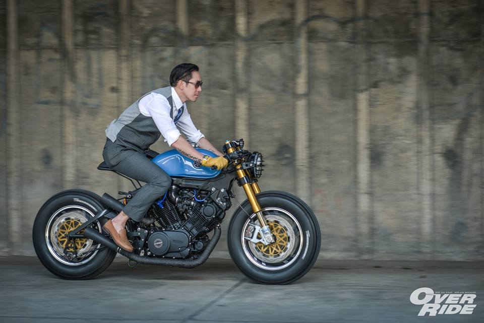 YAMAHA XV 750 ban do Make Over ham ho cua Biker Thai - 26