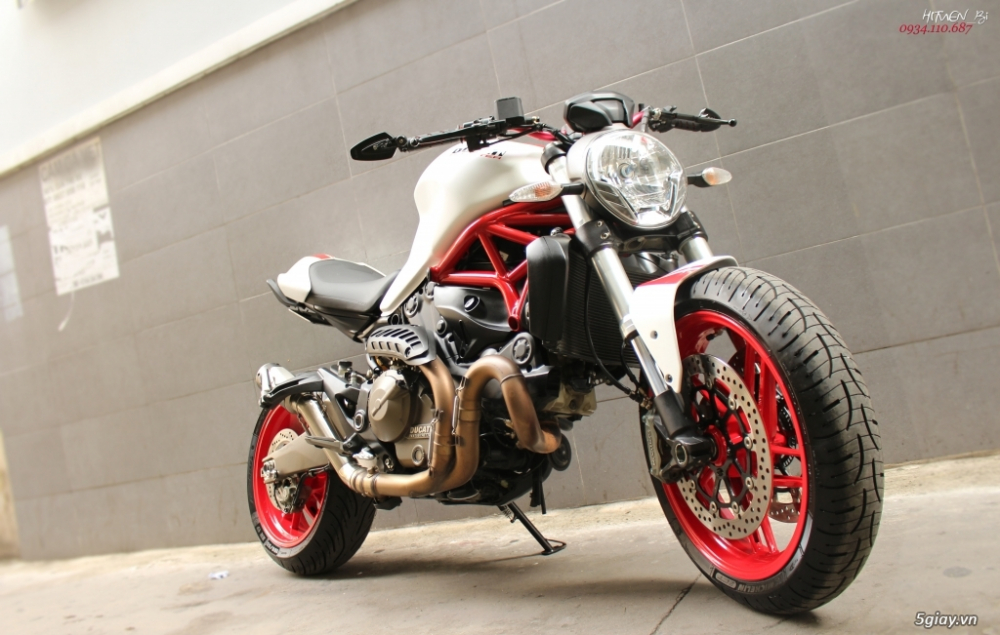 ___ Can Ban ___DUCATI Monster 821 ABS 2017___