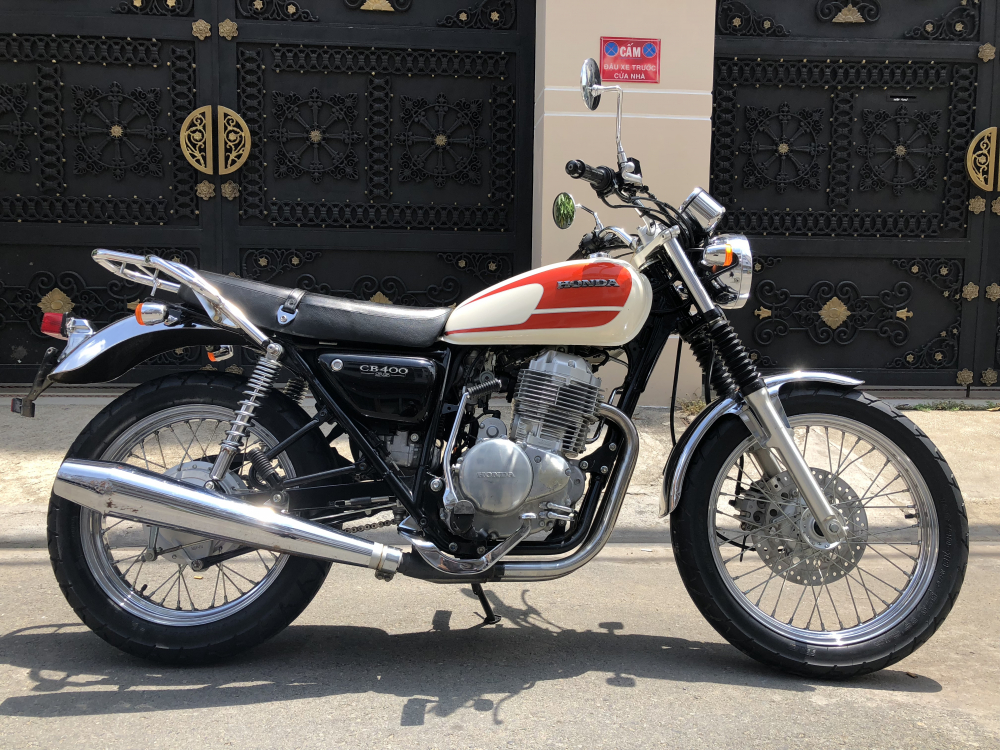 __Ban Honda CB400SS date 2008 dang ky lan dau 62016 Thanh ly Hai quan xe ken dep odo 10000km