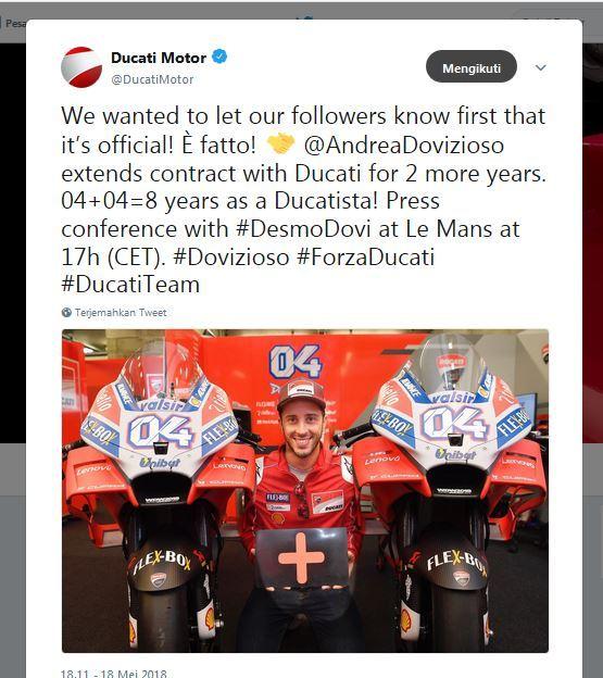 Andrea Dovizioso Tay dua duy nhat thuan hoa duoc Desmodovi gia han thanh cong den MotoGP 2020 - 3