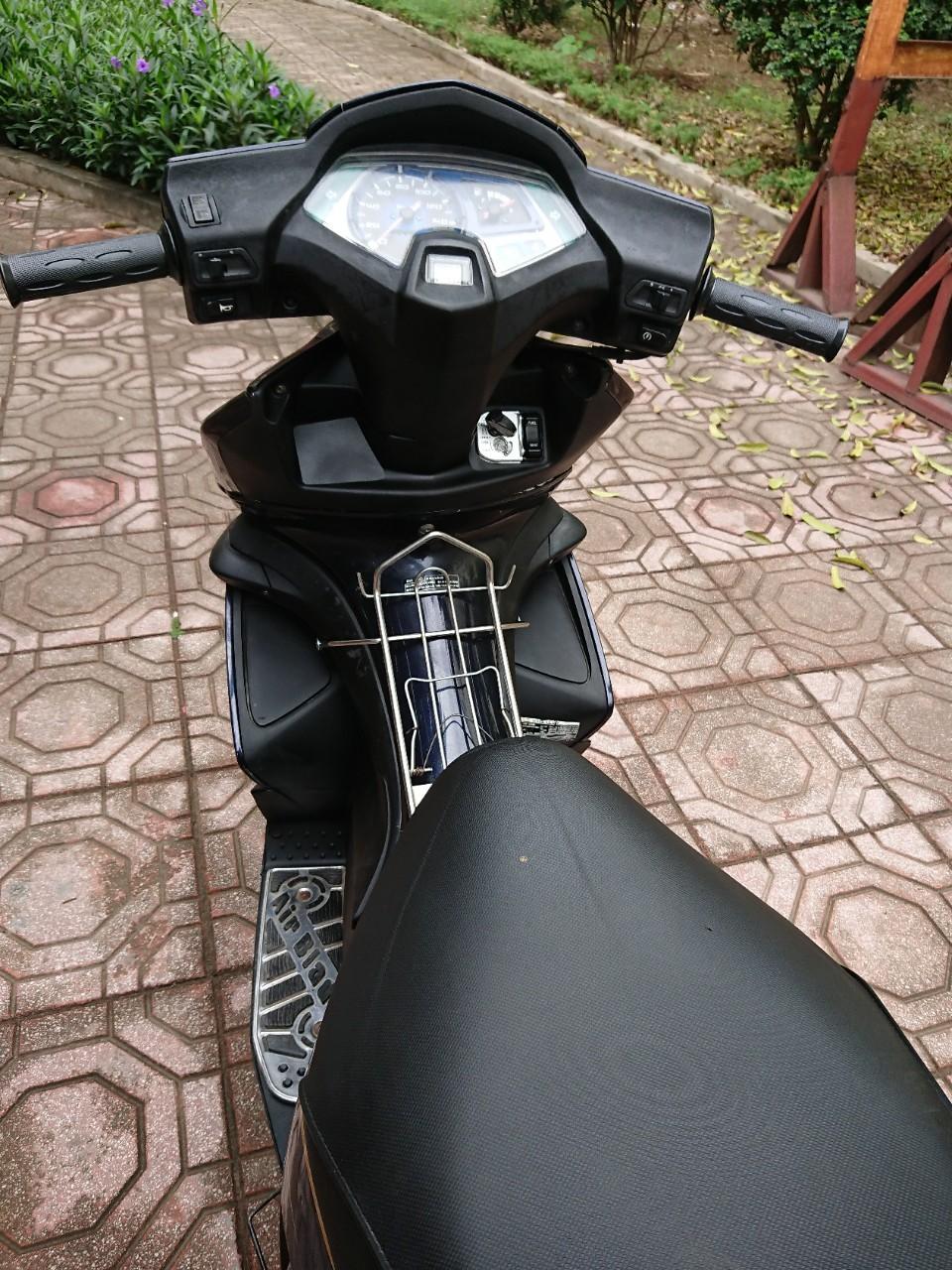 Ban Honda Airblade 110 doi trung xanh den 2009 nguyen ban tam hoa 222 - 5
