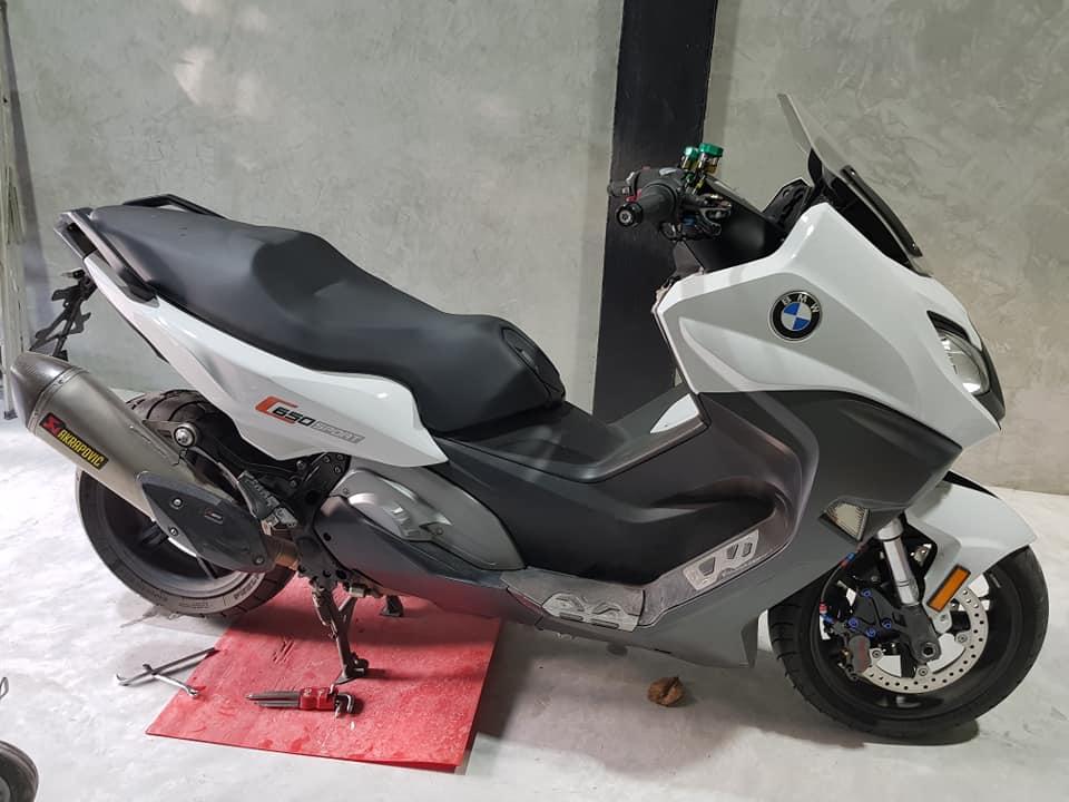 BMW C650 Sport ban do hiem hoi tai thi truong Thai