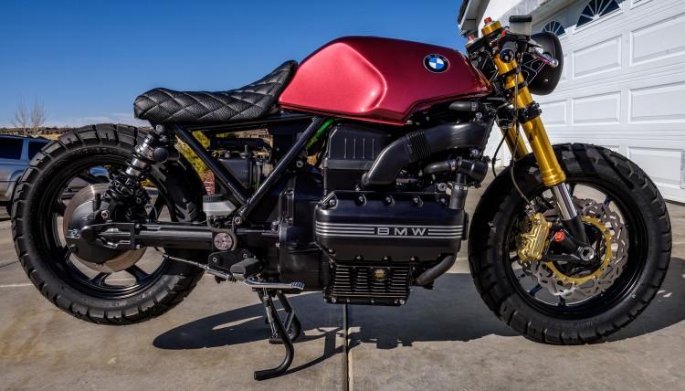 BMW K100 bien hoa tai tinh duoi ban tay cua Trevor Ditson - 3