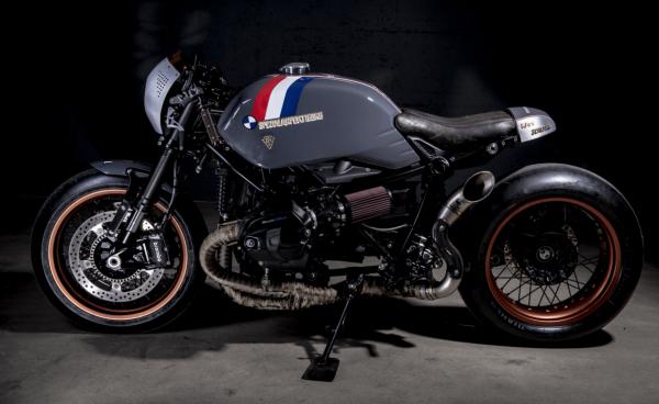 BMW R NineT ban do Cafe Racer den tu xuong do VTR Custom - 7