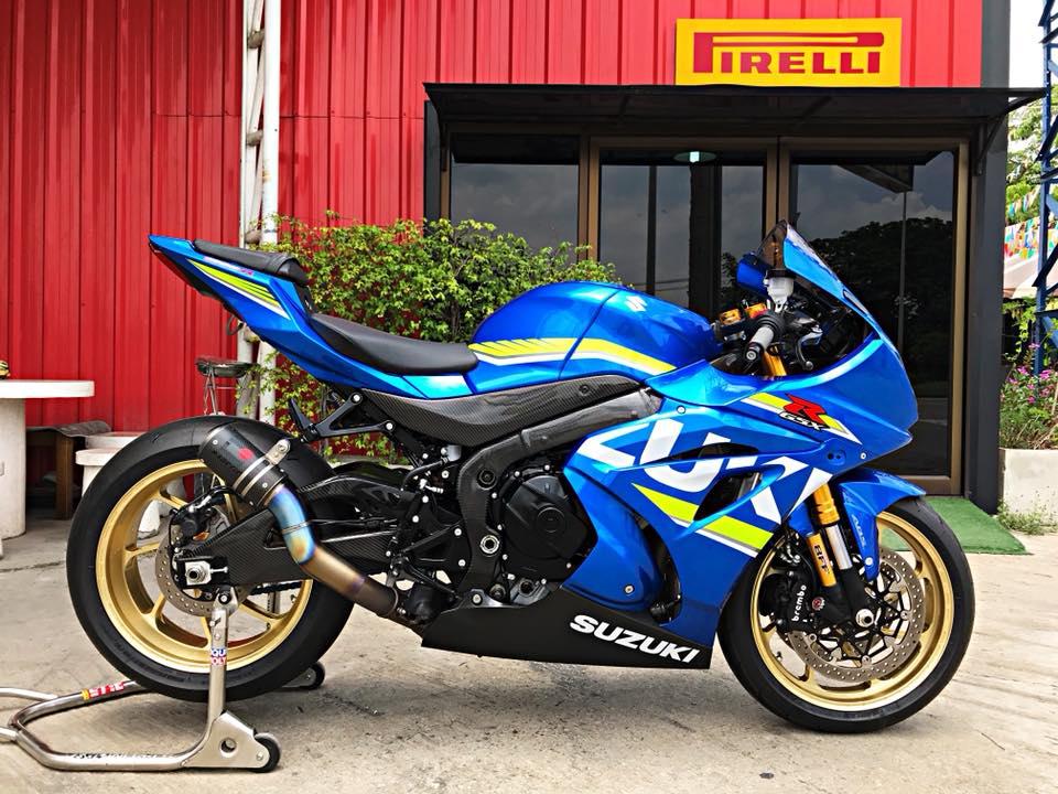 Chiem nguong dung nhan bong bay tu Superbike Suzuki GSXR1000