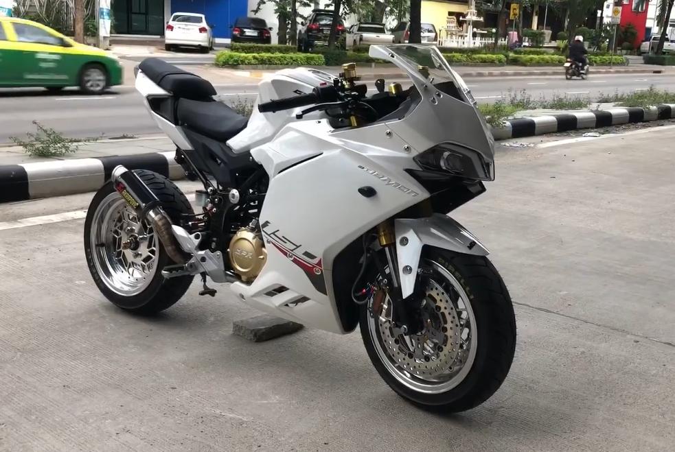 CLIP Can canh GPX Demon 150 GR do cuc dinh cua dan choi Thailand - 3