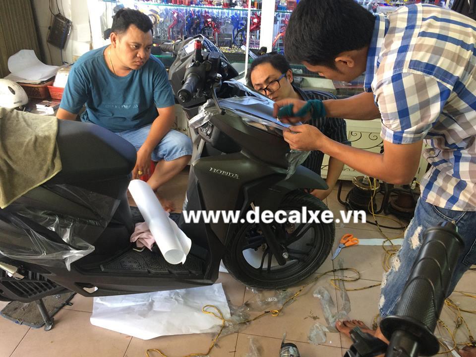 Do choi trang tri xe vario click thai 2018 - 3
