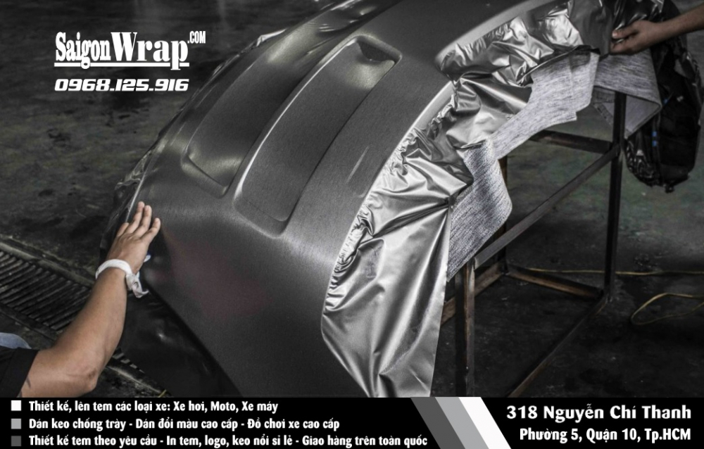 Dan Wrap Doi Mau O To Tai Nha SaiGonWRAPCom Dich Vu Chuyen Nghiep - 3
