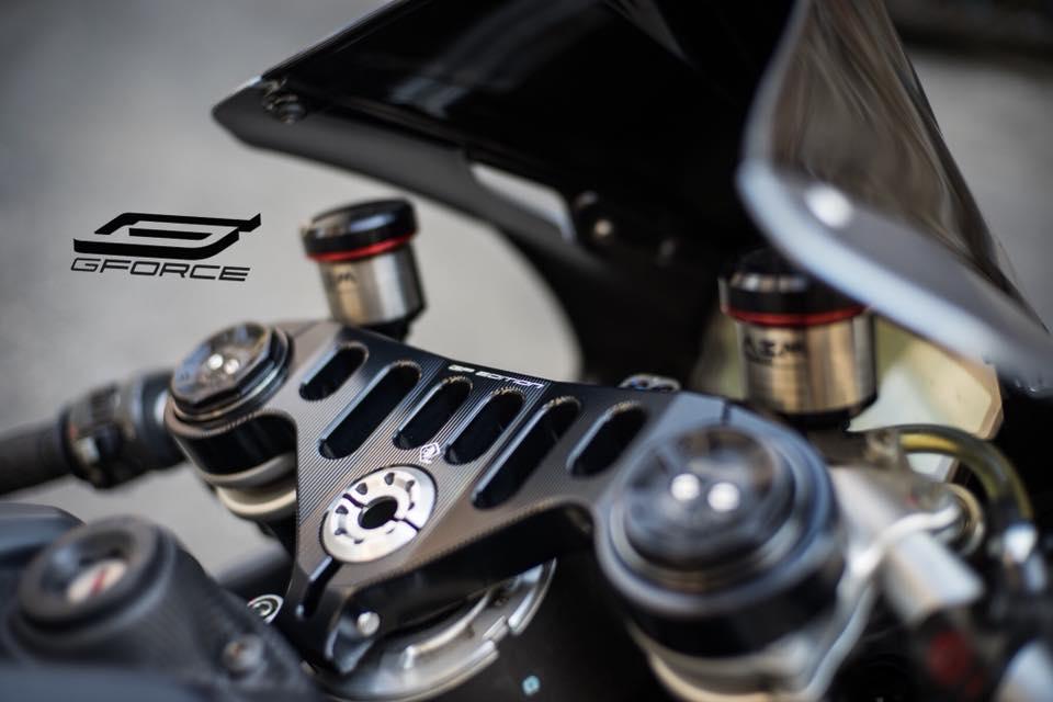 Ducati 899 Panigale la lam voi tone mau xam Lamborghini - 4