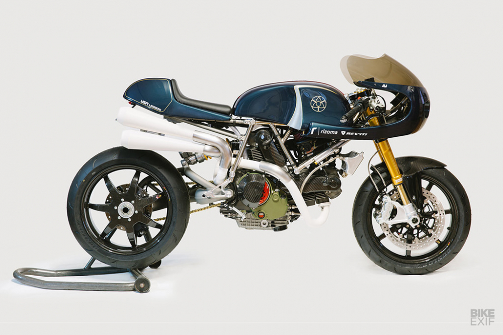 Ducati Monster 1100 ban do day co bap theo phong cach American