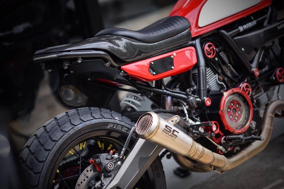 Ducati scrambler ban do Tracker day nhiet huyet tu Mugello - 4