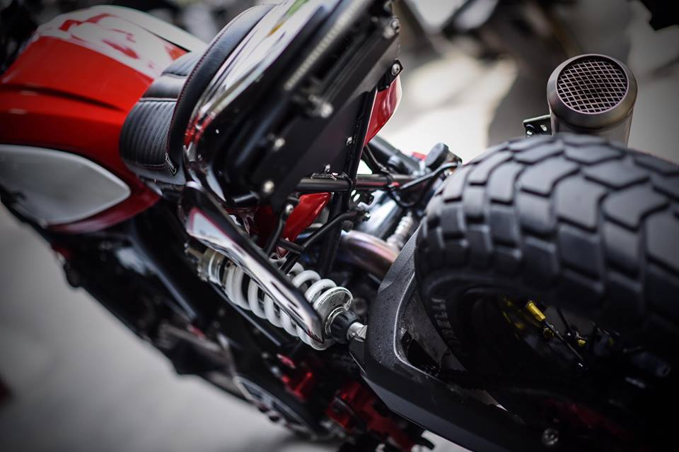 Ducati scrambler ban do Tracker day nhiet huyet tu Mugello - 6