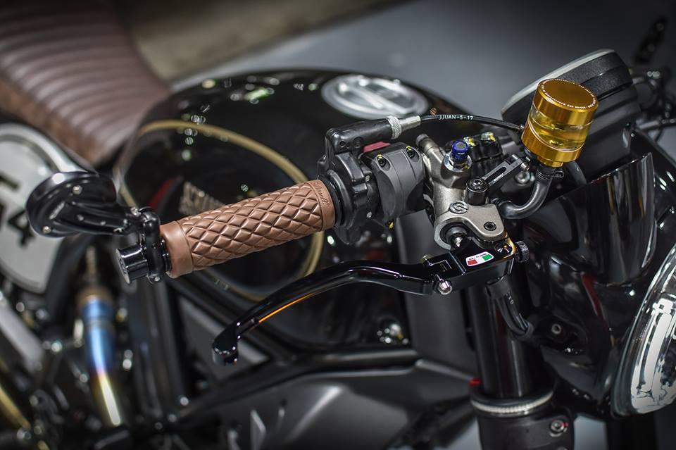 Ducati Scrambler Cafe Racer cucstom by Mugello - 4