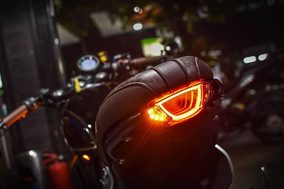 Ducati Scrambler Cafe Racer cucstom by Mugello - 8