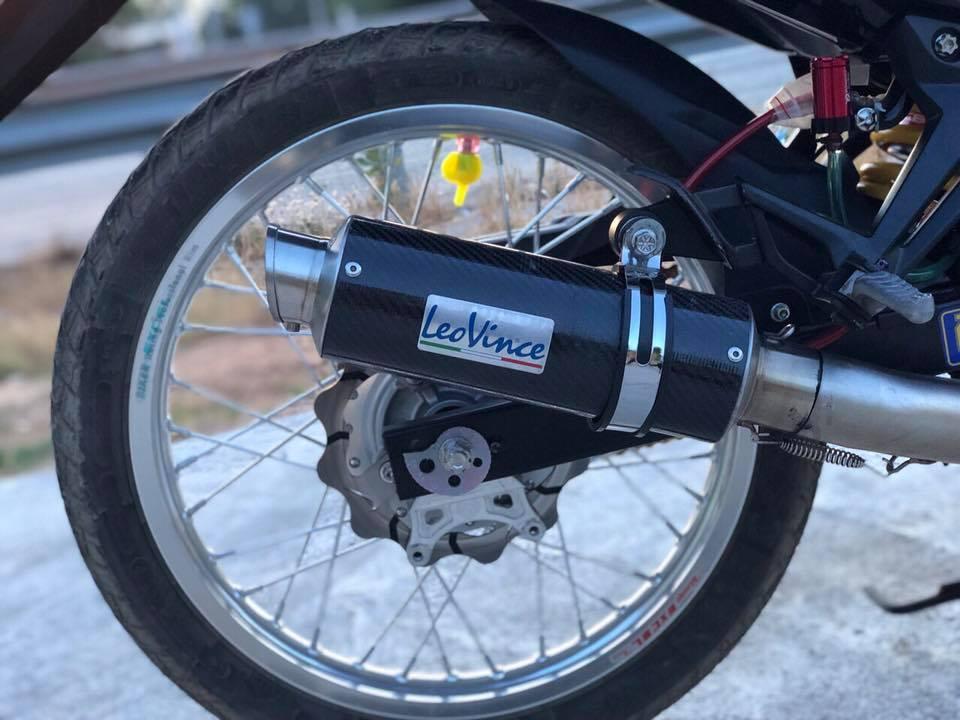 Exciter 135 do cua biker Viet mang ao anh LC 135 den tu nuoc ban - 10