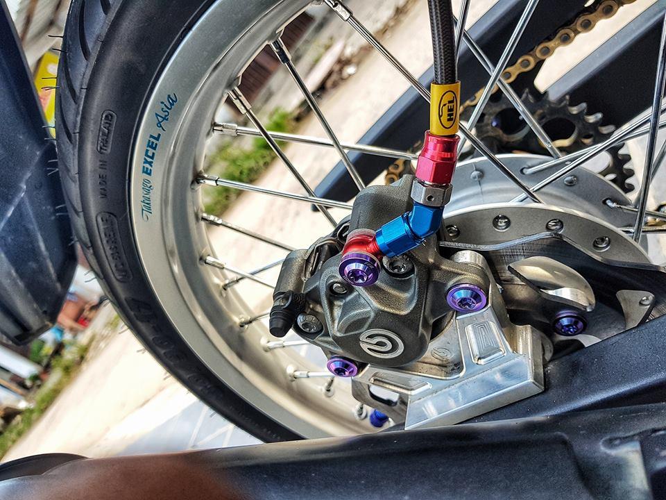 Exciter 150 do gay choang bang loat do choi cua chang Biker Viet - 6