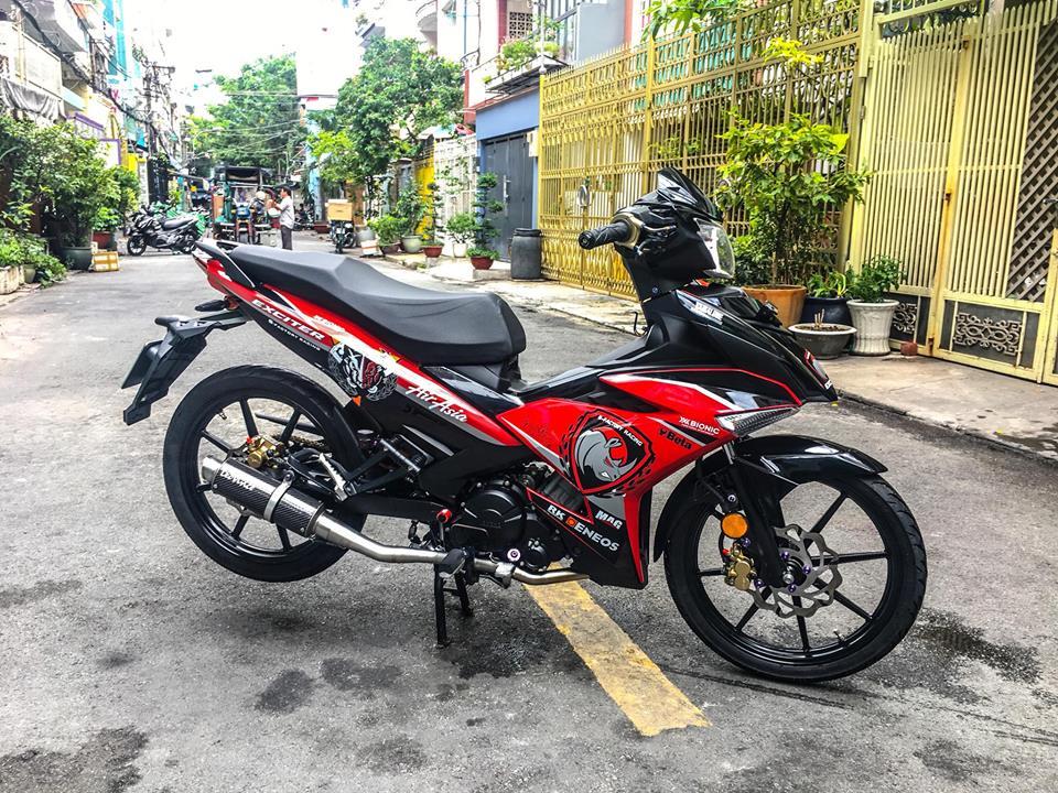 Exciter 150 do gian don de lai cam xuc manh cho nguoi xem cua biker Viet