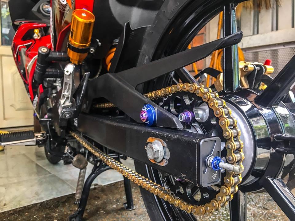 Exciter 150 do gian don de lai cam xuc manh cho nguoi xem cua biker Viet - 8