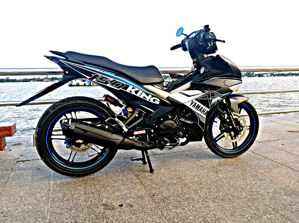 Exciter 150 do gian don mang ve dep don gian cua biker Tien Giang - 6