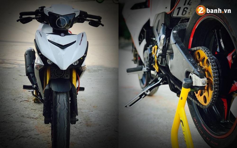 Exciter 150 do ham ho voi option do choi PKL cua biker Quang Ninh